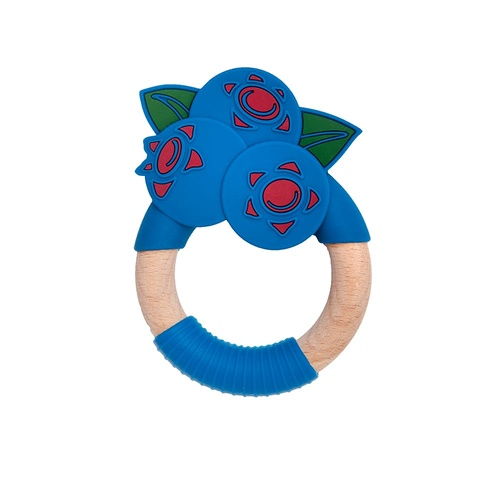 Nibbling Superfoods Teething Toy Blueberry